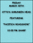 "saturday  june 2nd  THAI ROCK RESTAURANT  ""Pacifica roadshow""  2:00 pm sharp  375 BEACH 92ND ROCKAWAY BEACH  FREE OUTDOOR SHOW"